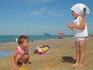 Степановка первая - игры в песке
