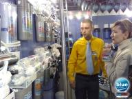 Выставка Акватерм 2009 в Киеве - стенд компании Bluefilters Украина.