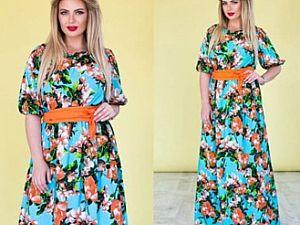 Штапель – самая популярная ткань для производства легкой летней одежды