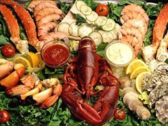 Украинцам не советуют употреблять морепродукты
