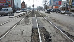 В Запорожье отремонтируют пять трамвайных переездов на 10 млн гривен