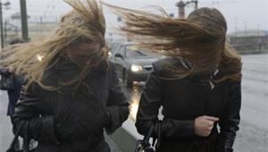 Сегодня в Запорожье возможны штормовые порывы ветра