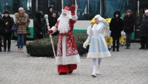 70 Дедов Морозов поздравят детей с ограниченными возможностями во всех районах города