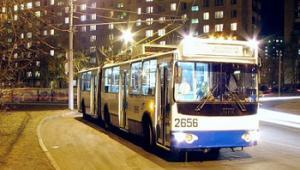 У Полтаві запропонували запустити нічні тролейбуси