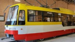 Новый низкопольный трамвай в Одессе готов выйти на маршрут