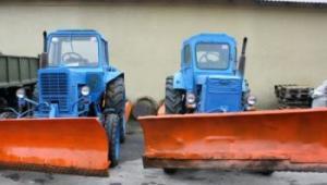Ужгородські комунальники уже готові до снігопадів. Взимку на дорогах працюватиме 22 одиниці техніки