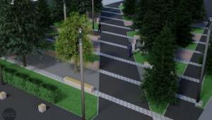 У мережі опублікувати світлини проекту реконструкції Північного бульвару