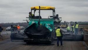 Как в Запорожской области ремонтируется трасса за полмиллиарда