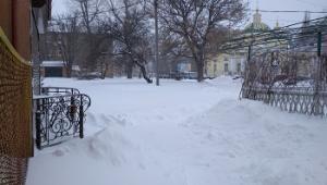 Кропивницький у боротьбі із снігопадом