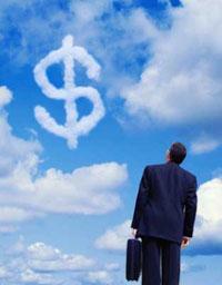 деньги в небе, а заработок в сети интернет