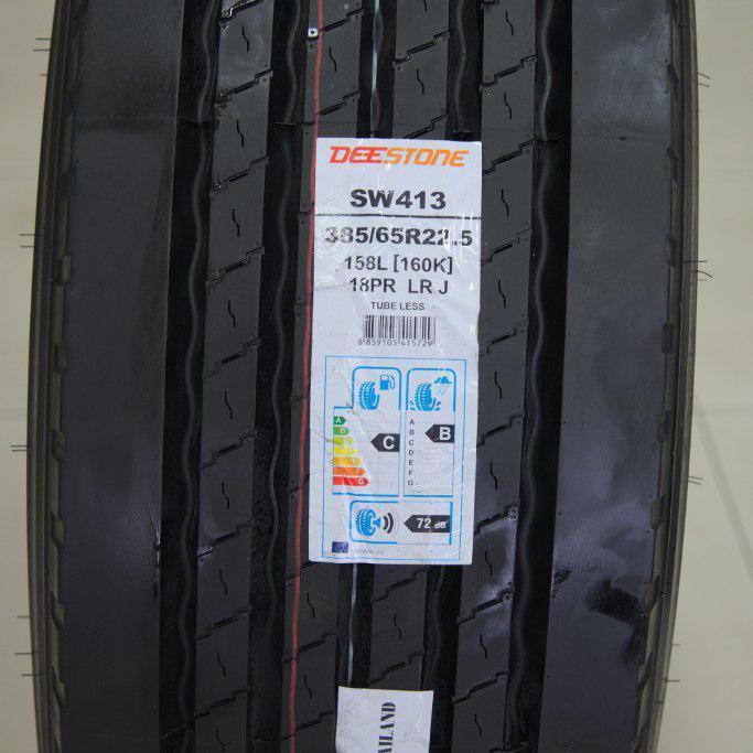 рисунок протектора шины 385/65 R22.5 Deestone SW-413 на полуприцеп