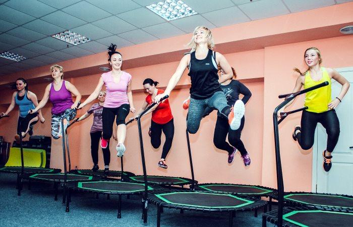 Jumping на батутах в Кропивницком