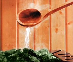 Баня наполниться душистыми ароматами трав