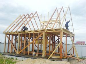 Проектирование и постройка дачного домика
