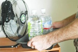 Как спастись от жары в офисе
