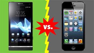 сравнение Iphone и Android