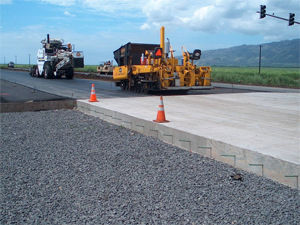 стоимость бетонных дорог