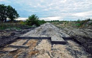 прокладка дорог из бетона